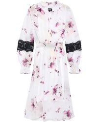 DKNY Knee-length Dress - White