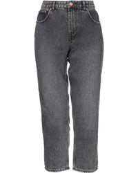 Cheap Monday Denim Pants - Gray