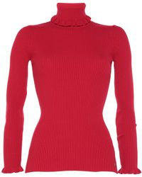 Ottod'Ame Turtleneck - Red