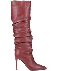 Erika Cavallini Semi Couture Knee Boots - Red