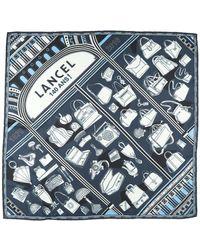 Lancel Square Scarf - Blue