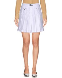 Hood By Air - Mini Skirts - Lyst