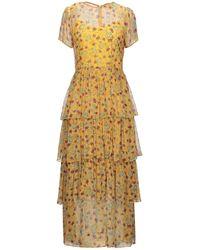 HVN Long Dress - Yellow