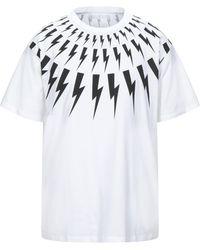 Neil Barrett T-shirt - Bianco