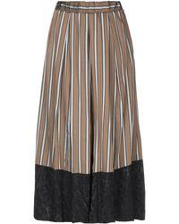Souvenir Clubbing 3/4 Length Skirt - Multicolor
