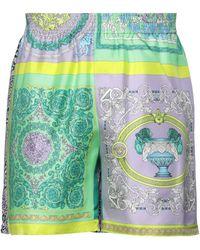 Versace Shorts & Bermuda Shorts - Purple