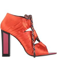 Kat Maconie Ankle Boots - Orange