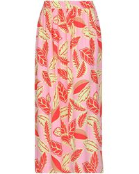 Boutique Moschino Long Skirt - Pink