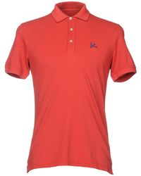 Isaia Polo Shirt - Red