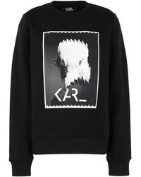 Karl Lagerfeld - Sweat-shirt - Lyst