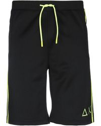 Sun 68 Bermuda Shorts - Black