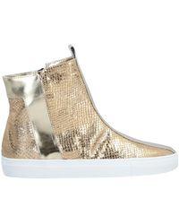 Alberto Fermani High-tops & Sneakers - Metallic