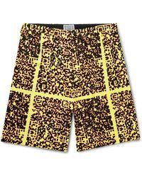 Cav Empt Bermuda Shorts - Yellow