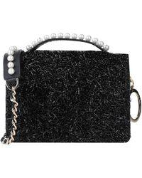 Mother Of Pearl Shoulder Bag - Black