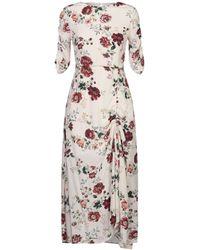 Maje 3/4 Length Dress - White