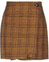 Suoli Minifalda - Marrón