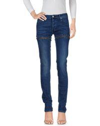 Hood By Air Pantaloni jeans - Blu