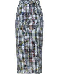 Vivienne Westwood Anglomania Jupe midi - Bleu