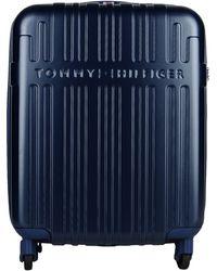 Tommy Hilfiger Wheeled Luggage - Blue