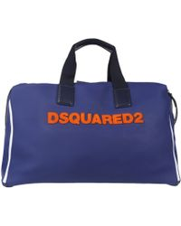 DSquared² Travel & Duffel Bag - Blue
