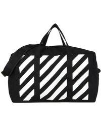 Off-White c/o Virgil Abloh Travel & Duffel Bag - Black