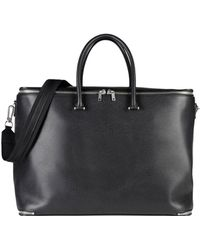 Valextra Travel & Duffel Bag - Black