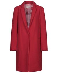 Femme By Michele Rossi Cappotto - Rosso
