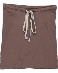 Rick Owens Mini Skirt - Multicolor