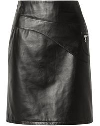 Sandy Liang Midi Skirt - Black