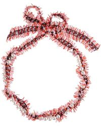 Lanvin Necklace - Red