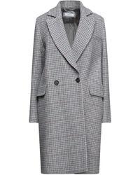 Cappellini By Peserico Coat - Grey