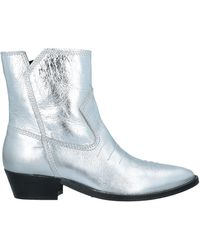 Replay Ankle Boots - Metallic