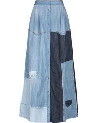 John Richmond Gonna jeans - Blu