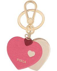 Furla Key Ring - Pink