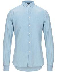 Paolo Pecora Denim Shirt - Blue