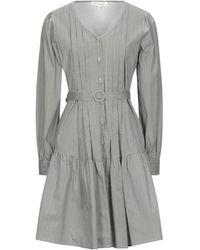 Silvian Heach Midi Dress - Grey