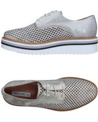 Donna Più Lace-up Shoe - Gray