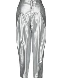 PT01 Casual Trousers - Metallic
