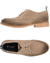Snobs Lace-up Shoe - Gray