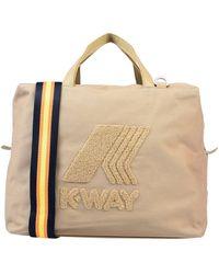 K-Way Handbag - Natural