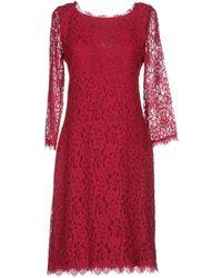 Diane von Furstenberg Knee-length Dress - Red
