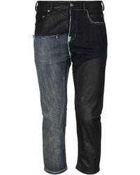 Rick Owens Denim Pants - Black