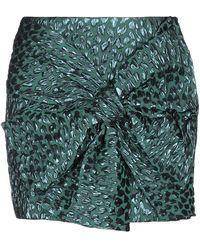 Faith Connexion Mini Skirt - Green