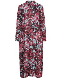 Lee Jeans Midi Dress - Red