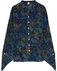 Rosie Assoulin Shirt - Blue