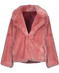Manila Grace Faux Fur - Pink