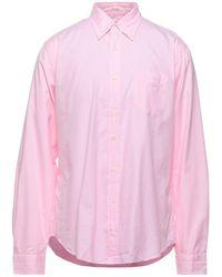 Gant Rugger Camisa - Rosa