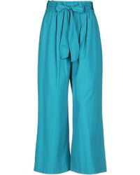 Forte Forte Casual Trousers - Blue