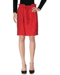 INTROPIA - Knee Length Skirt - Lyst