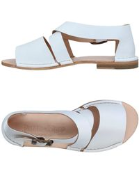 Punto Pigro Sandals - White